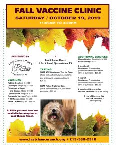 Pet Vaccine Clinic @ Last Chance Ranch