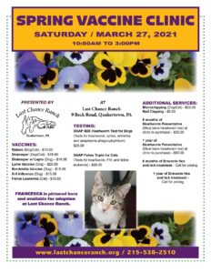 Spring Vaccine Clinic